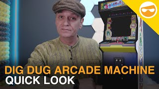 Dig Dug Quarter Size Arcade Machine | Quick Look