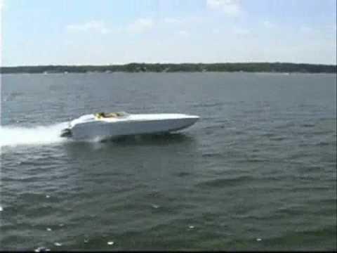 36' Skater Offshore Race Boat