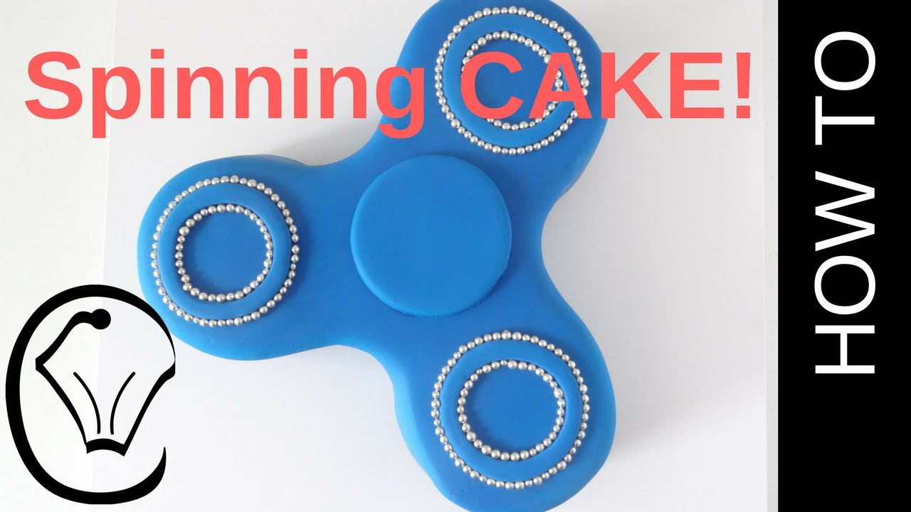 Birthday Cake Fidget Spinner
