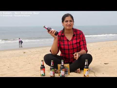 0 - 3 Sisters - Non Alcoholic Beer - J K Enterprises - Mangalore/Manipal