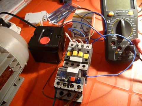 Подключение электромагнитного
