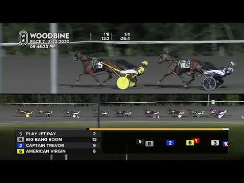 Woodbine, Mohawk Park, August 22, 2020 Race 7