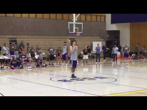 Ivica Zubac - Lakers Rookie Talent Show - 9/29/16 UCSB