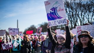 Activists protest around the globe for another Women's March