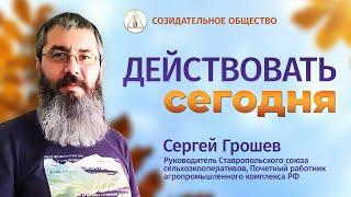 Сергей Грошев Построение и устойчивое развитие Созидательного общества