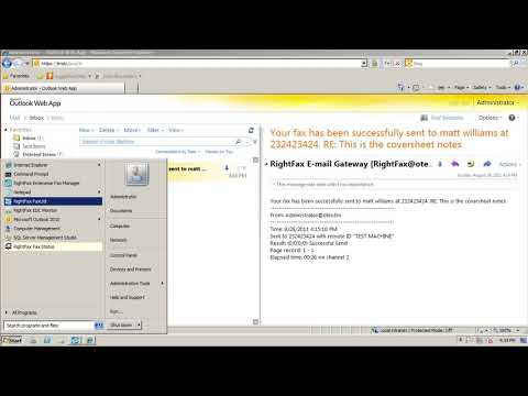 How To Send A Fax From Outlook Web Access