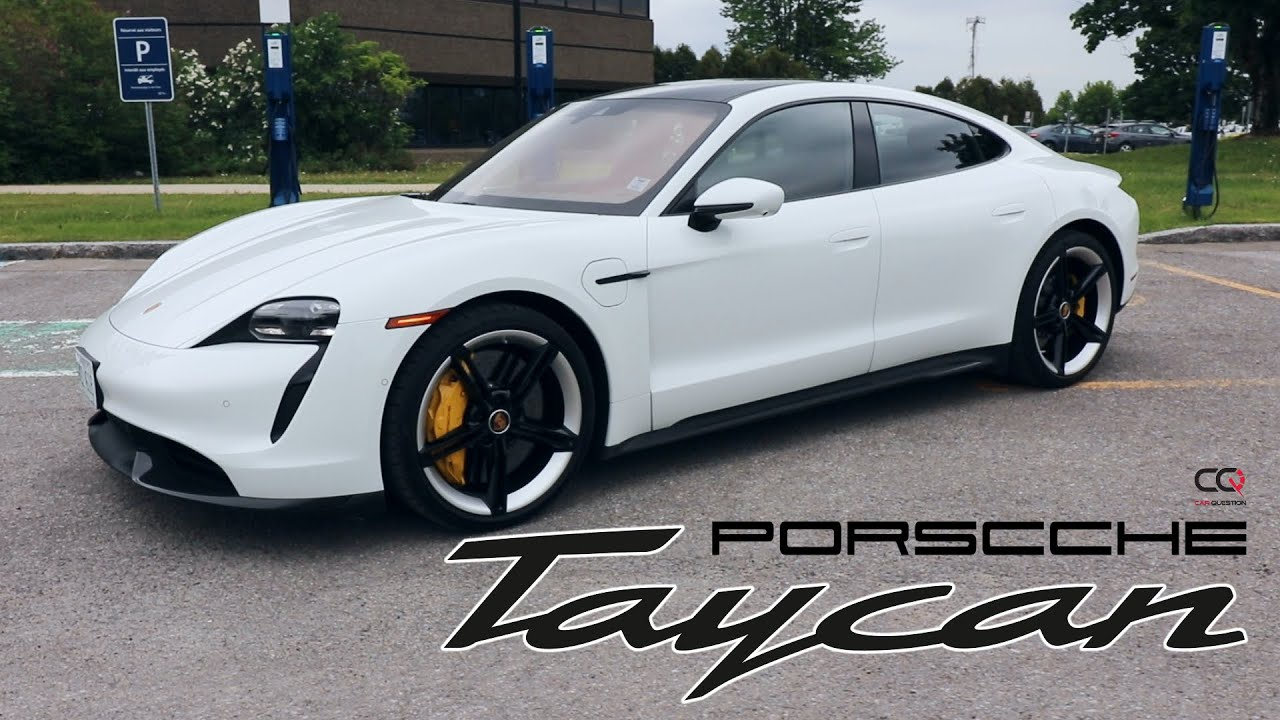 Porsche Taycan Turbo S | The electric sports car faithful to the heritage!