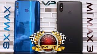 Honor 8X Max vs Xiaomi Mi Max 3 Speed Test