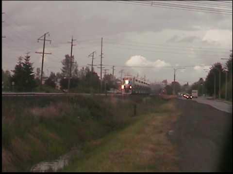 Sounder commuter train thru Auburn WA
