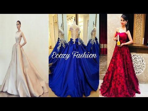 Latest Indian Wedding Evening Gown Evening Gown For Wedding