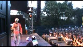 Jah Mason backed by Dub Akom Live Garance Festival 2010