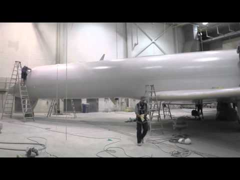 Duncan Aviation Unveils Timelapse of Unique Paint