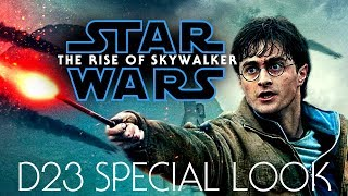 Harry Potter 7.2 trailer - (Star Wars IX The Rise of Skywalker D23 Special Look style)