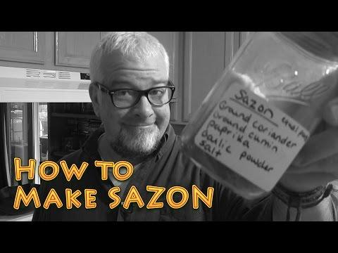 How to make SAZON