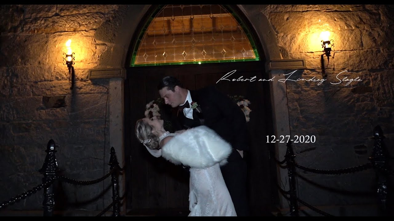 Robert and Lindsey Slagle Wedding Story (Castle McCulloch NC)