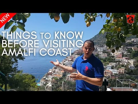 Things to know before visiting the Amalfi Coast