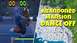 Compete In A Dance Off At An Abandoned Mansion Challenge Guide - Fortnite Battle Royale (Season 7)