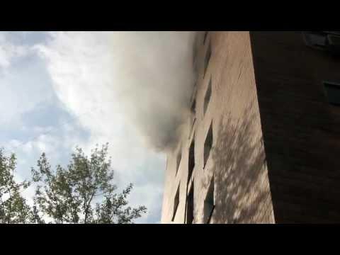 Пожар в Харькове! Мама...
