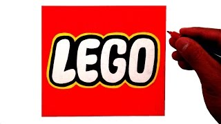 How to Draw the LEGO Logo
