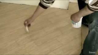 Пропитка швов плитки средством Kiilto Seal