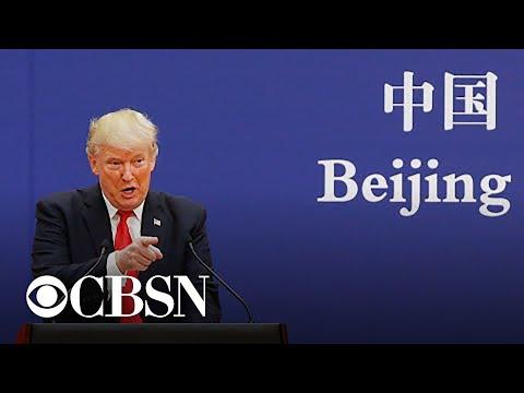 Trump says U.S.