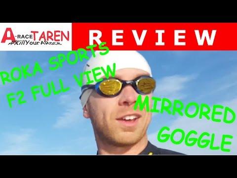 0e2c22457b6 Best Triathlon Goggles of 2015  Roka Sports F2 Full View Mirrored Goggle