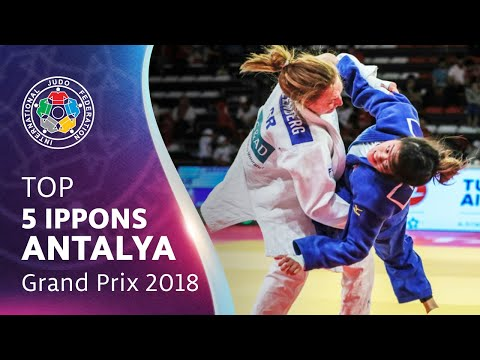 TOP 5 IPPONS - ANTALYA GRAND PRIX 2018