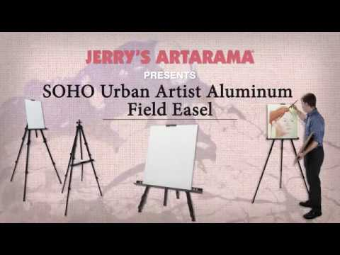 SoHo Aluminum Field Easel - Ultra-Lightweight Aluminum Field Easel - Product Demo