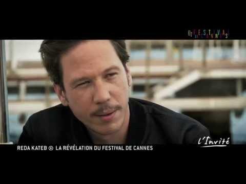 """Reda Kateb à Cannes : """"C'est à Cannes qu'a commencé ma carrière"""""""