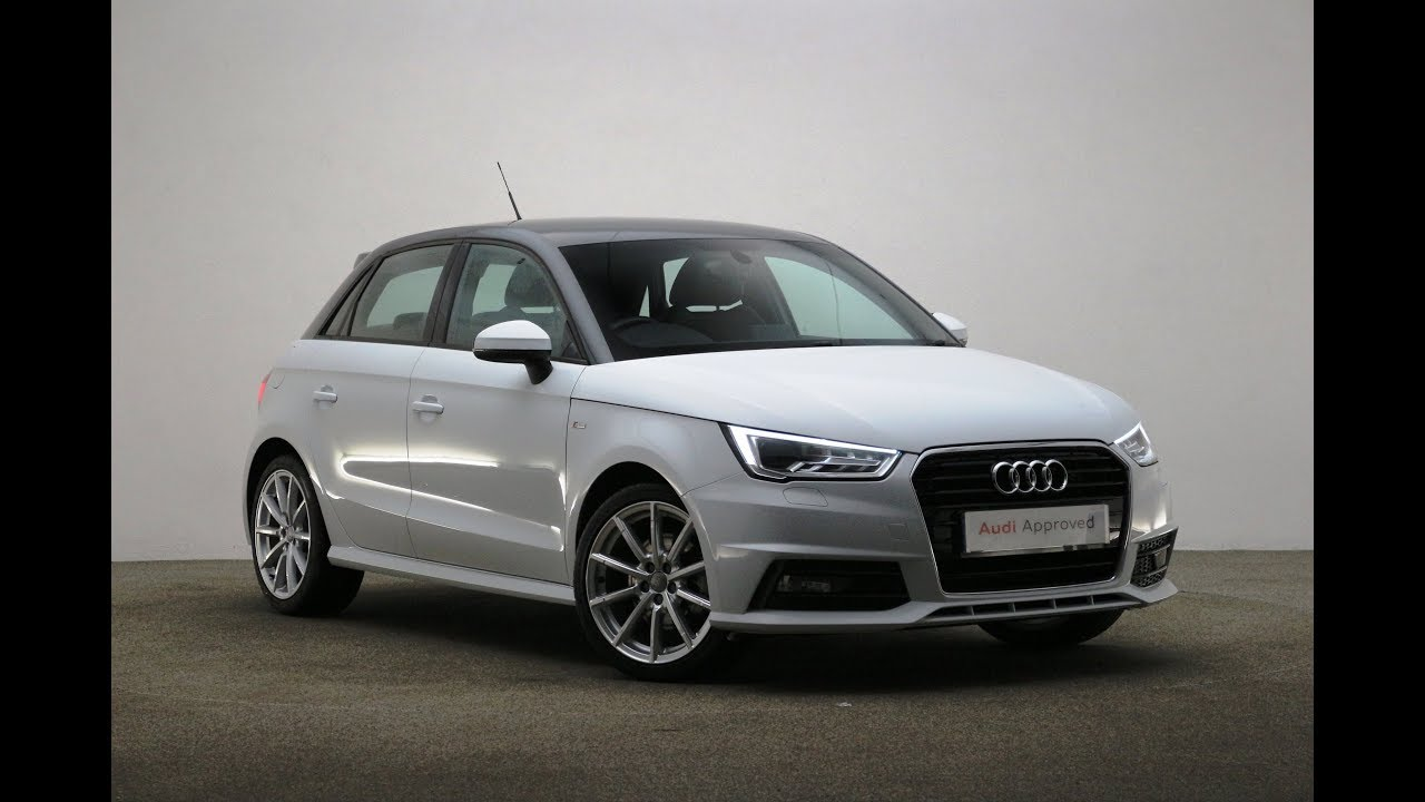 gl17ywb audi a1 sportback tfsi s line white 2017 reading audi youtube. Black Bedroom Furniture Sets. Home Design Ideas