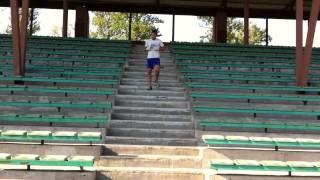 Кроссфит - тренировка на стадионе в Колпино