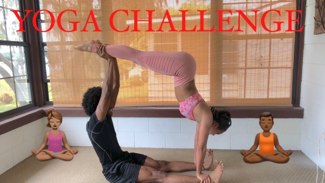 MENS GYMNASTS TRY EXTREME YOGA CHALLENGE - YouTube