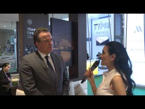 ATM 2016: Nick Heath, general manager, Sheraton Grand Doha Resort & Convention Hotel