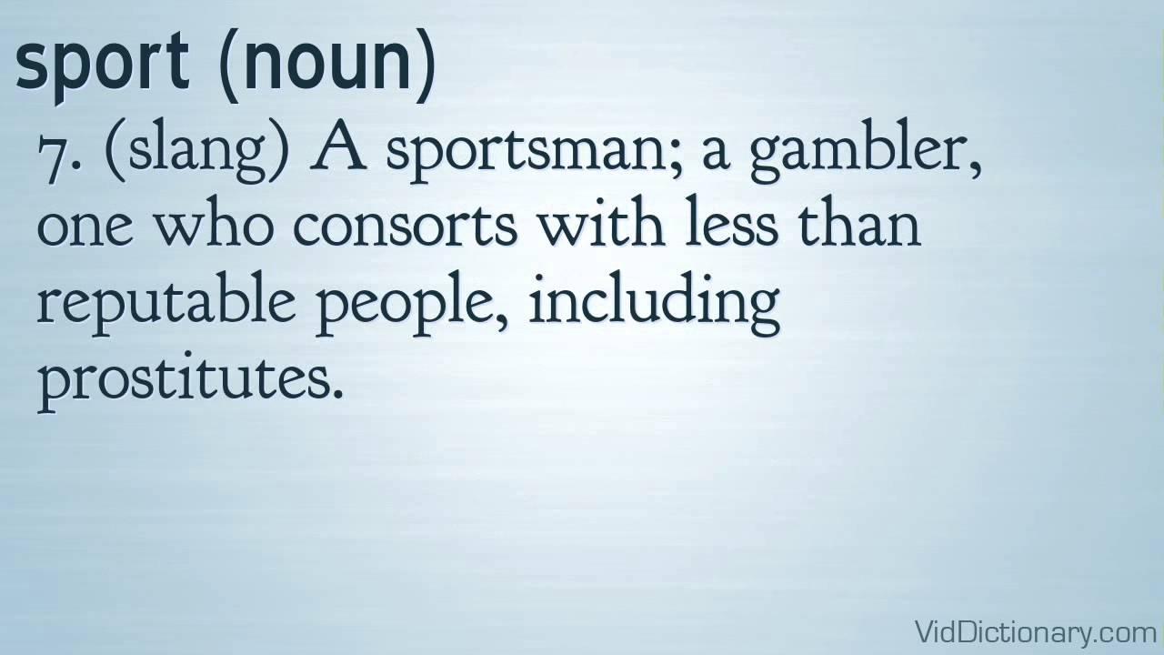 sport - definition