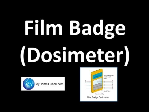Film Badge Dosimeter Radioactivity Youtube