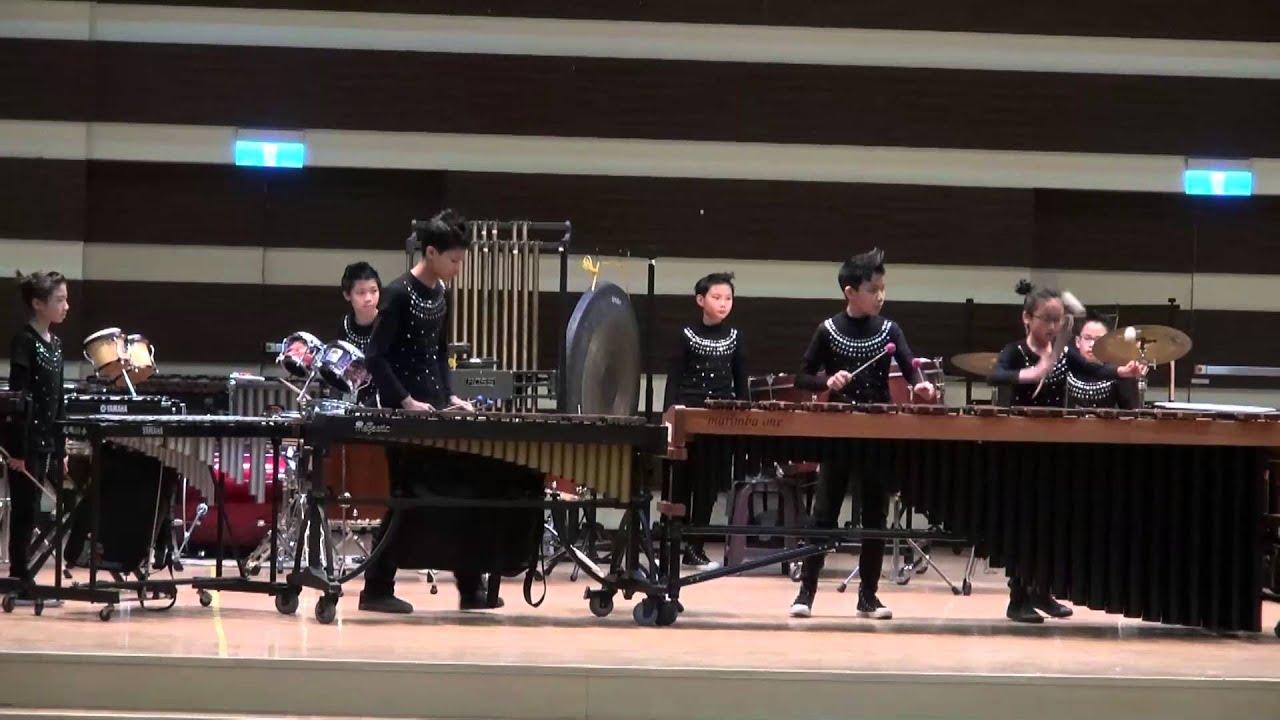 104 學年度 光明國小打擊樂團 全國賽演出曲目 - YouTube