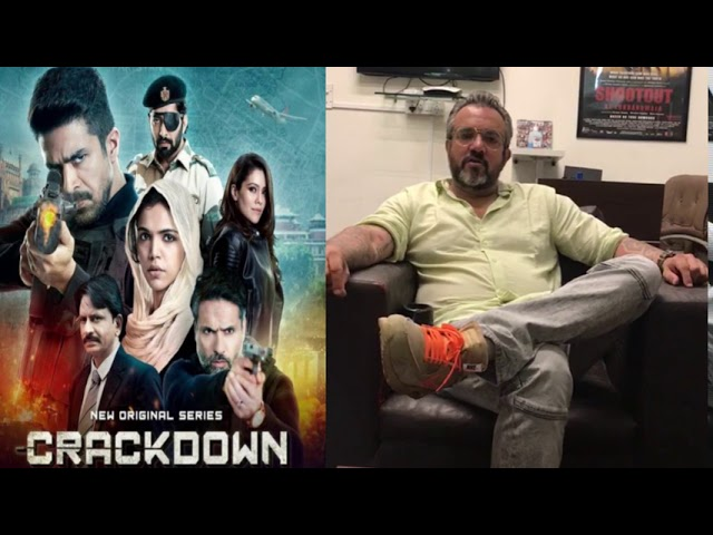 Vipin Bhardwaj Plays BALA In Apoorva Lakhia's CRACKDOWN Web Series