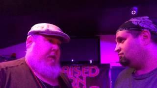 Stu and Len Knee with Raised On Radio