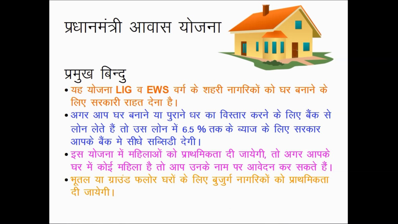 What is pradhanmantri awas yojna fully explained in hindi properly guided