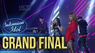 MARIA ft JEVIN JULIAN RISALAH HATI Grand Final Indonesian Idol 2018