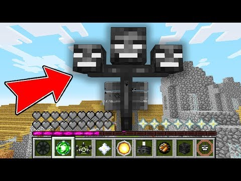 Minecraft - HOW To Play WITHER BOSS MINECRAFT In Minecraft: NOOB ZOMBIE Vs PRO WITHER ! NOOB VS PRO