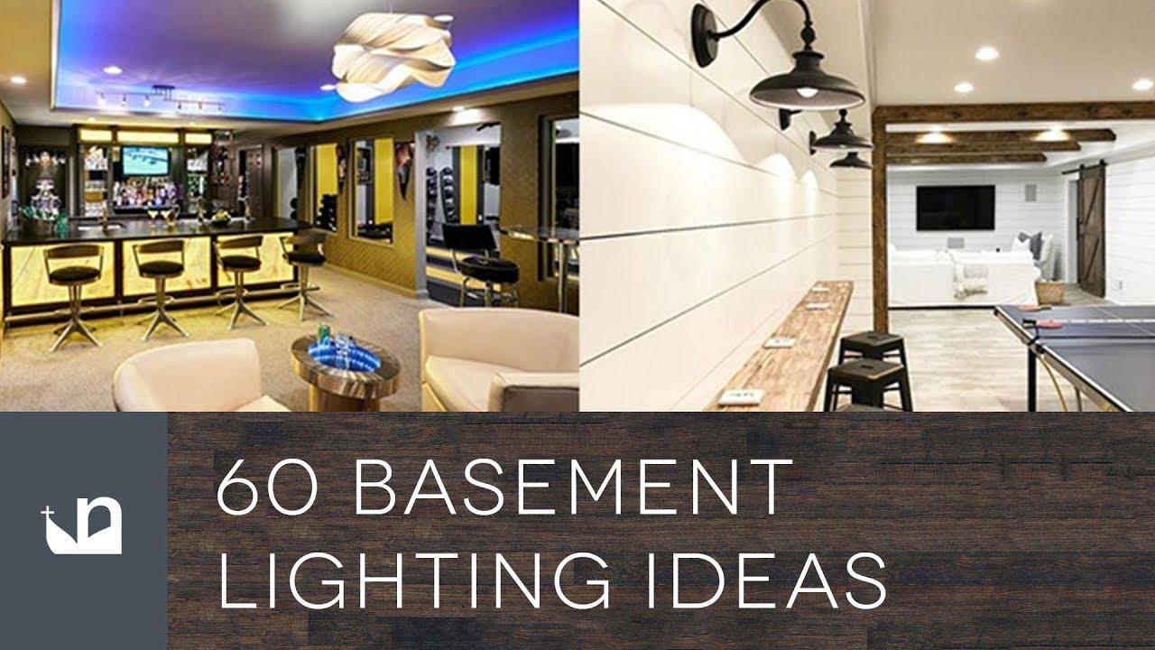 Lighting Basement Washroom Stairs: 60 Basement Lighting Ideas