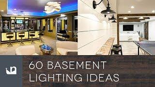 60 Basement Lighting Ideas