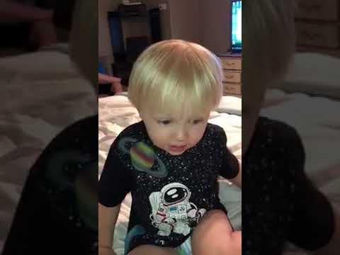 Baby Boy Singing Gospel Hymn Victory In Jesus
