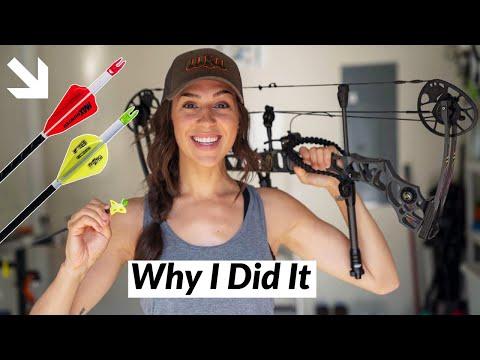 I Changed My Bow Hunting ARROW SETUP!