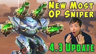 New Most OP Sniper: Mk2 Ballista Spectre Gameplay - War Robots 4.3 WR
