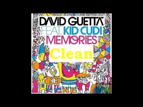 David Guetta ft. Kid Cudi-Memories (Clean)