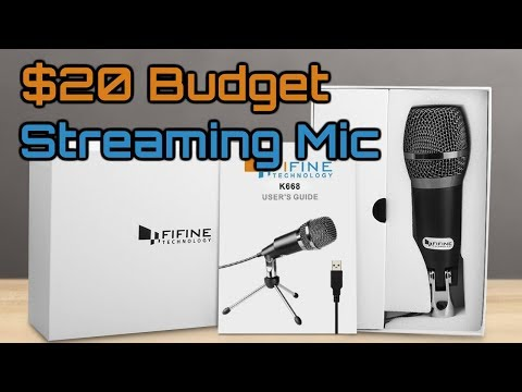A $20 Budget USB Streaming/Video Mic - Can it Compete w/ The Blue Yeti