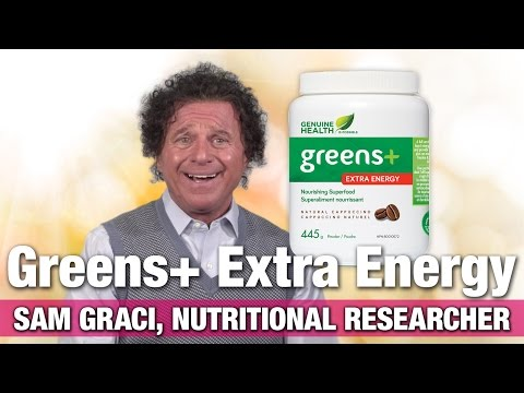 Genuine Health Greens+ Extra Energy with Nutritional Researcher Sam Graci
