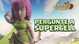 MELHORIAS NA BASE PRINCIPAL? GUERRA NA BASE DO CONSTRUTOR? PERGUNTE A SUPERCELL! CLASH OF CLANS